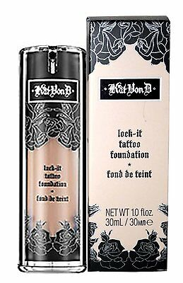 Kat Von D Lock-it Foundation DEEP 64 -OR CHOOSE YOUR SHADE!!FREE U.S. SHIPPING!!