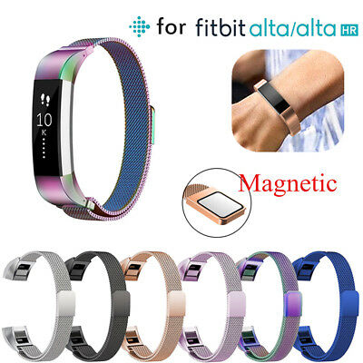 For Fitbit Alta/ Alta HR Magnetic Milanese Stainless Steel Watch Band Strap ☆UK☆