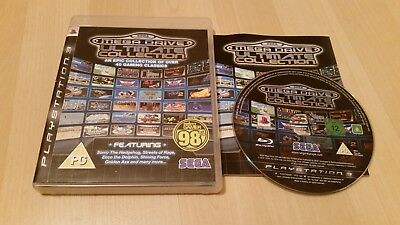 Sega Mega drive Ultimate Collection PS3 40+ retro games