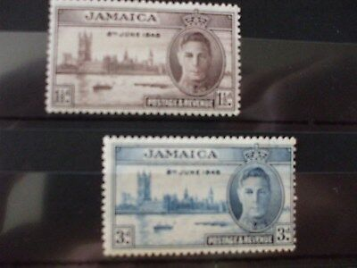 JAMAICA.- 1946 Victory Issue Full Set of 2vs MNH Cat 1.20 (1A7)