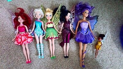 Tinker Bell Dolls And Others.