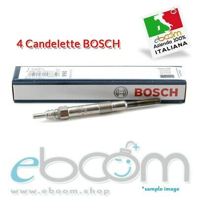 Kit Candelette Originali Bosch 0250202132