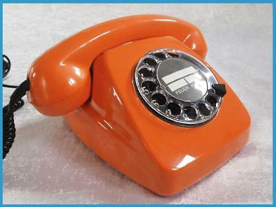 ..Telefon..deutsche Post..FeTAp 611-2..ORANGE..1977..restauriert..TAE..TOP..