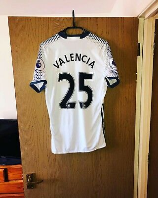 🔥VALENCIA #25🔥 Original Manchester United 3rd Football Shirt Jersey 2016/2017