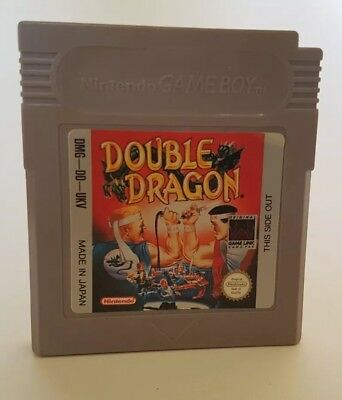 Double Dragon Nintendo Game Boy Game