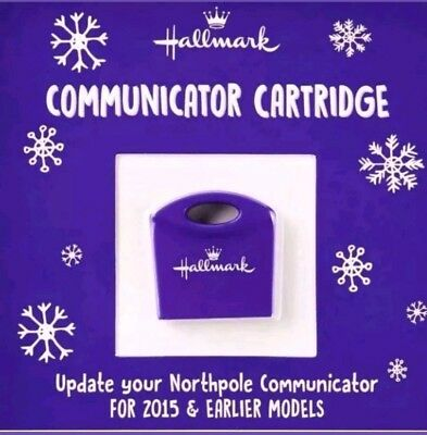 NEW! 2018 Hallmark North Pole Communicator Cartridge Refill Messages