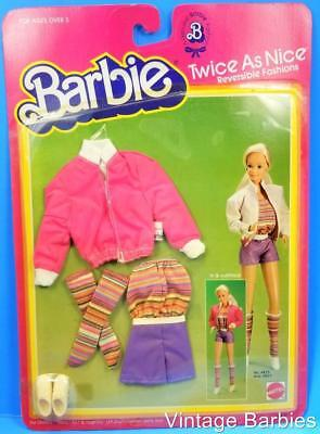 Barbie Doll Twice As Nice Outfit #4825 NRFP  ~ Vintage 1983