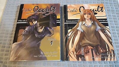Cafe' Occult 2 Volume 1 And Volume 2 Oh Rhe Bar Ghun - 2 Paperback Manga  2005