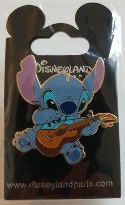 Pins Disneyland Paris STITCH GUITARE Pin's
