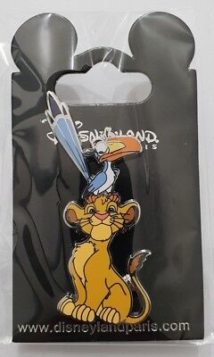 Pins Disneyland Paris LE ROI LION SIMBA & ZAZU Pin's