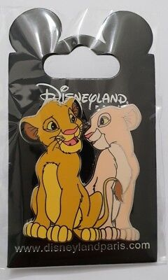 Pins Disneyland Paris LE ROI LION SIMBA & NALA Pin's