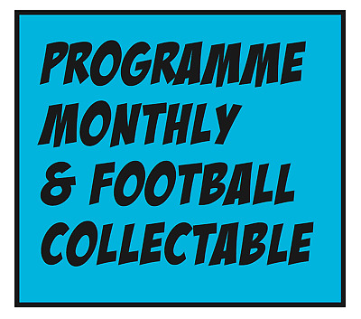 Issue 452 - November 2018  Programme Monthly & Football Collectable Magazine