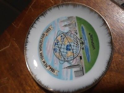 Souvenir mini plate of New York Worlds Fair 1964-65