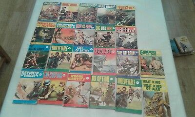 Collection Of 23 No. Combat Picture Library Comics