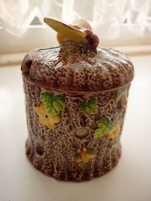MARUTOMOWARE JAPAN Marutomo  Bee Finial Small Honey Pot