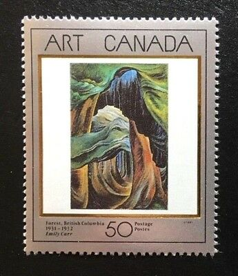 "Canada #1310 MNH, Masterpieces of Canadian Art ""4"" Stamp 1991"