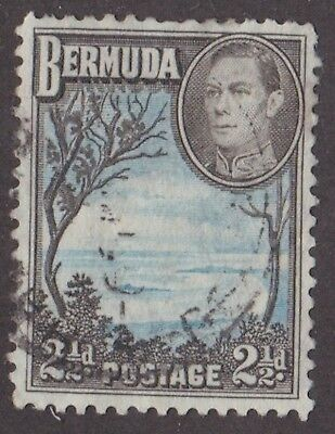 Bermuda, 1941, 2.5d blue and black,  SG113a, Sc 120A, used.