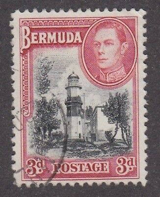 Bermuda, 1938, 3d red and black,  SG114, Sc 121, used.