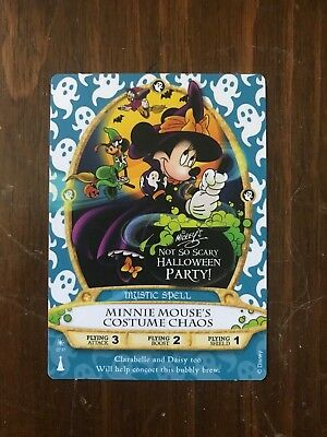 Disney Sorcerers Of The Magic Kingdom Minnie Mouse's Costume Chaos 07/P