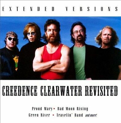 Creedence Clearwater Revisited - Extended Versions (CD, Sony) Bad Moon Rising