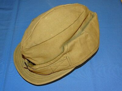 WWII OD Winter Cap Hat, 1940 Dated