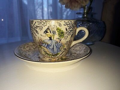 Beswick Cup And Saucer - Vintage Design