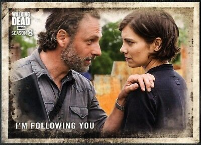 I'm Following You #7 The Walking Dead Season 8 Part 1 Topps Trade Card (C2035)