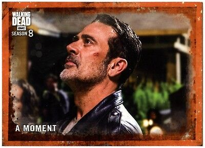 A Moment #83 The Walking Dead Season 8 Part 1 Topps Rust Parallel Card (C2036)