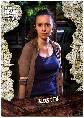 Rosita #C-8 The Walking Dead Season 8 Part 1 Topps Character Chase Card (C2038)