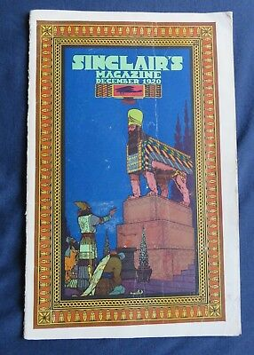 1920 sinclair oil co magazine