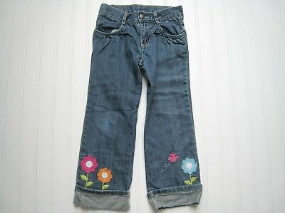 Gymboree Used Smart and Sweet Girls Jeans 5t