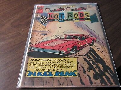 Hot Rods and Racing Cars #93 & 115 Charlton Comics Comic Book Lot Vintage 12cent