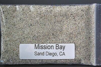MISSION BAY ~ SAN DIEGO, CALIFORNIA - BEACH SAND Sample