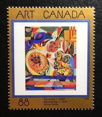 """Canada #1545 MNH, Masterpieces of Canadian Art """"8"""" Stamp 1995"""