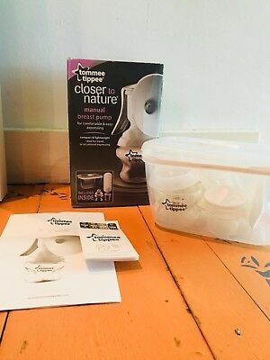 Tommee Tippee Closer to Nature Manual Breast Pump  - Used