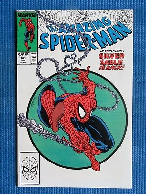 Amazing Spider-Man # 301 - (Vf/nm) - The Silver Sable Is Back - Todd Mcfarlane