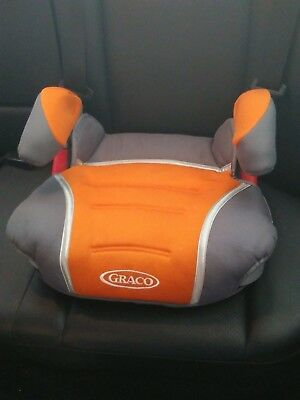 Graco Turbobooster backless car booster seat model 8E17SAT