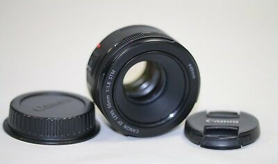 ** MINTY ** Canon EF  50mm f/1.8 STM Lens Excellent Condition - FREE SHIPPING!