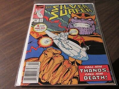 Silver Surfer #34 KEY ISSUE Rebirth of Thanos First Appearance Infinity Gauntlet