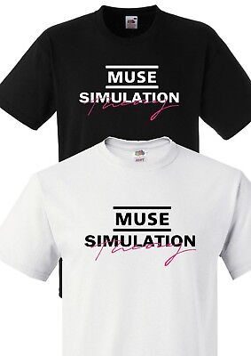 Muse Simulation Theory Unisex T-Shirt S-3Xl Rock Concert Muse Tour Album