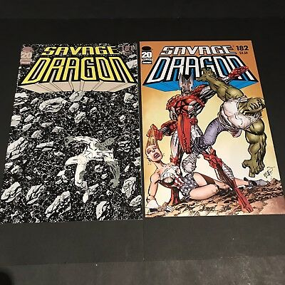 Savage Dragon 181 182 184 192 - HTF Issues