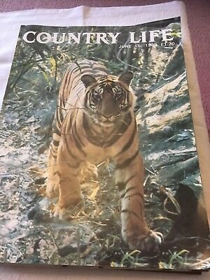 Country Life Magazine June 15th 1989
