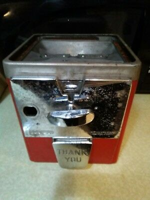 Early Atlas Master Gumball Vending Machine 1960's 1 cent 5 cent