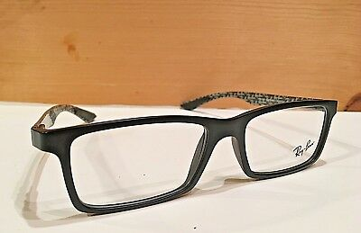 6fdf5929c1413a New Ray Ban Eyeglasses Black Carbon Frames Model No. RB8901-5263 (Frames  Only