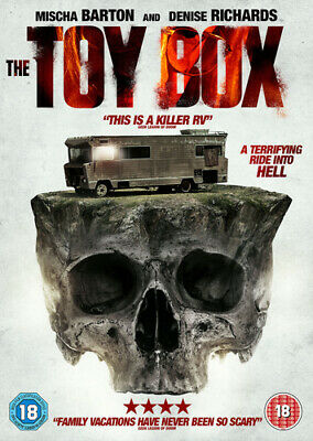 The Toybox DVD (2018) Denise Richards, Nagel (DIR) cert 18 Fast and FREE P & P