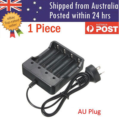 4 Slots 4.2V Universal Rechargeable 18650 Li-ion Battery Smart Charger  PLUS