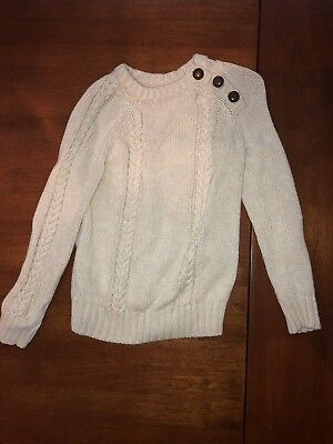 Old Navy Girls 5T Ivory Sweater