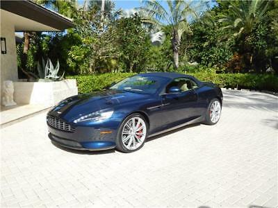 2015 DB9 conv 2015 Aston Martin DB9 conv 21,000 Miles blue Convertible 12 Cylinder Engine 5.9L