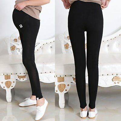 Pregnant Women Abdominal Maternity Pencil Pants Casual Stretchy Skinny Leggings