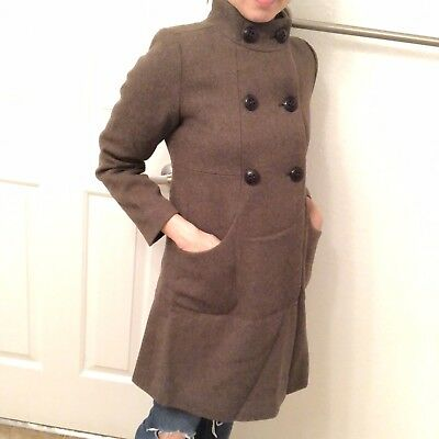 Zara Youth/Girls/Kids Classic Iconic Peacoat Winter Coat Jacket size 9-10